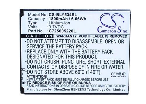 batería para blu studio 5.0 hd lte y534q nº c725605220l