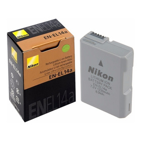 Bateria Para Camara Nikon En El-14a