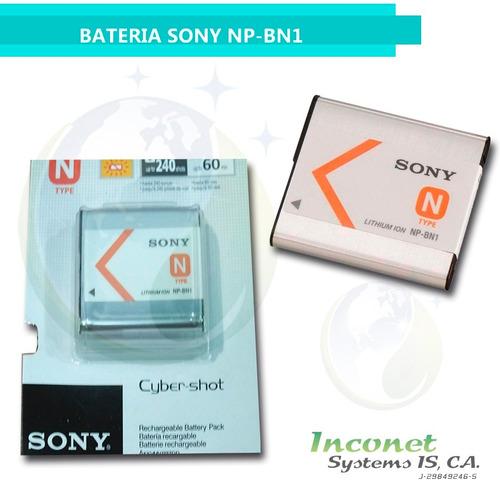 bateria para camaras sony np-bn1 inco