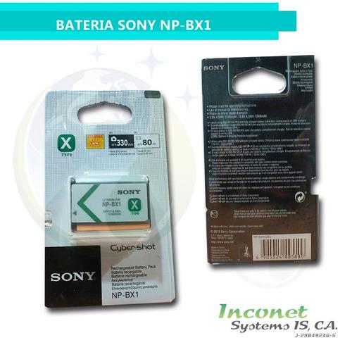 bateria para camaras sony np-bx1 inco