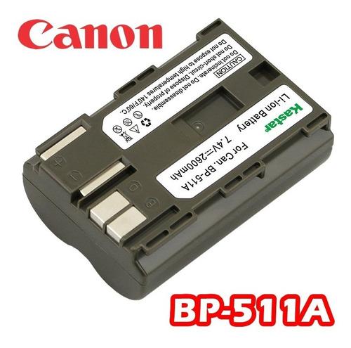 bateria para canon bp-511a eos 5d 10d 20d 30d rebel 1d d60 +