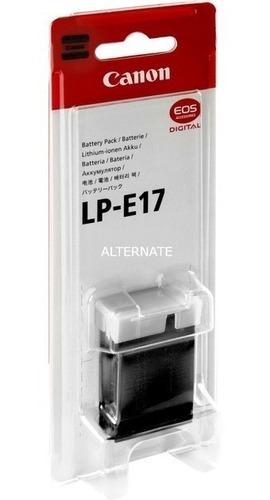bateria para canon lp e17 para t6i t7i sl2 etc