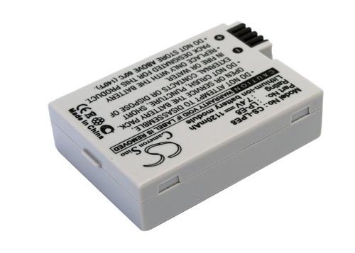 batería para canon lp-e8, lpe8, eos 550d, 1120mah - once