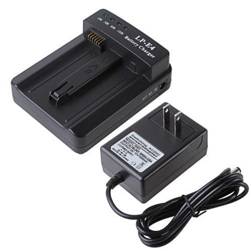 LP-E4 LP-E4N LPE4 LPE4N Batería Cargador LC-E4 Fit CANON EOS-1DX EOS-1Ds Mark III