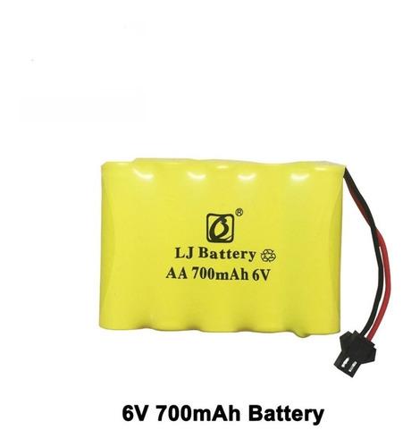bateria para carrinhos 6v 700mah nicd aa ( 80 pçs )