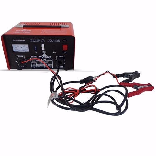 bateria para carro moto portátil worker cb-13s