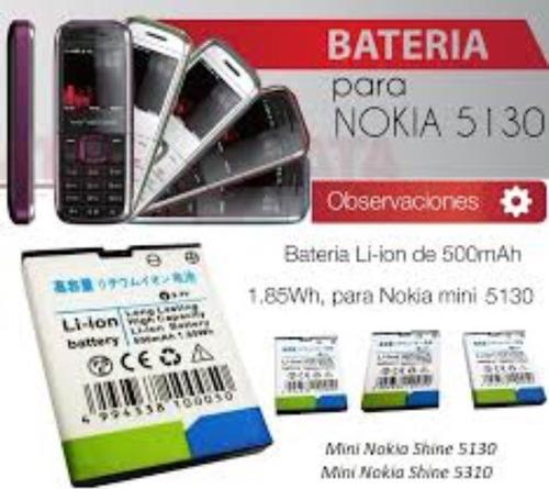 batería para celular nokia
