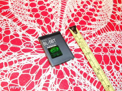 bateria para celulares battery pack nokia bl - 5bt - 3,7v !!