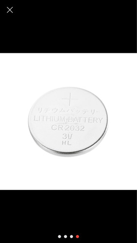 batería para controles 3v cr2032 ( incluye 2 baterias)