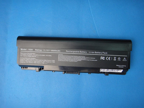 bateria para dell inspiron 1520 1521 1720 1721 fp282 nr239 3