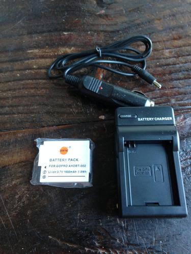 batería para go pro y cargador