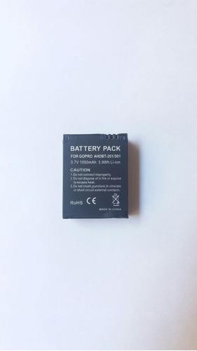 bateria para gopro hero 3, 3+black, silver e white