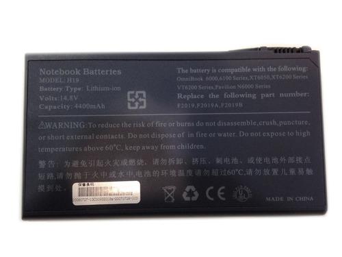 bateria para hp omnibook 6000 - l18650-hp60