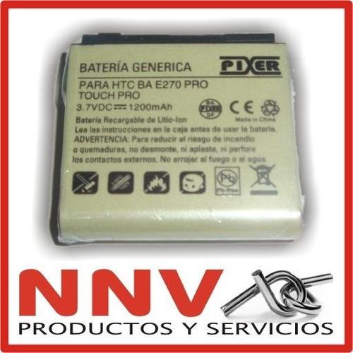bateria para htc touch pro ba e270 1200mah calidad premium