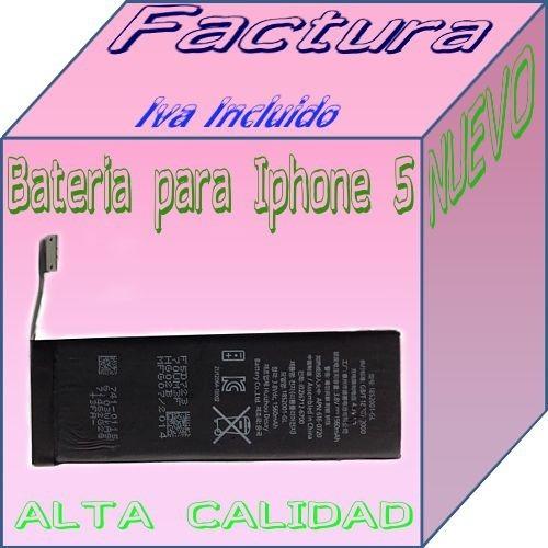 bateria para iphone 5s me345ll/a n/p 616-0720