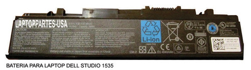 bateria para laptop dell inspiron latitude vostro studio xps