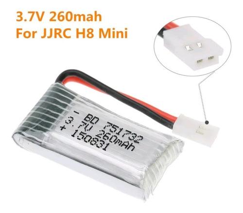 bateria para mini drone rc 260 mah e010 e011 e013 f36 nh010