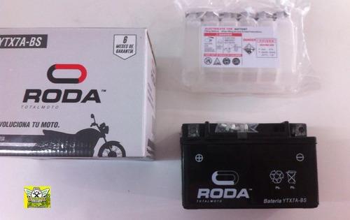 bateria para moto ytx7a-bs