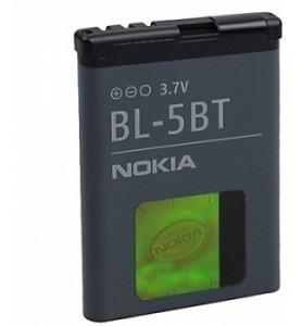 bateria para nokia bl-5bt, nokia 5140 ,6120 , n75, n76 2760