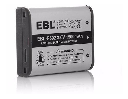 bateria para panasonic hhr-p592 p-p592 p592 kx-a92 1500mah