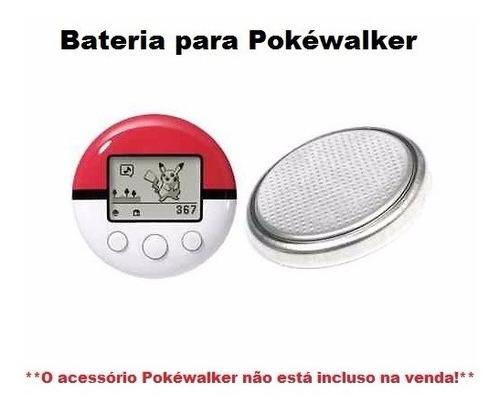 bateria para pokéwalker -- pokémon heart gold/soul silver