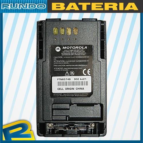 bateria para radio motorola mtp850 ftn6574b li-ion 2000mah