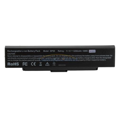 bateria para sony vaio vgp-bps9 vgp-bps9a windows8 6 cell