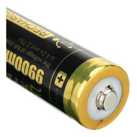 Bateria Pila 18650 9900mah Li Ion 3 7v Recargable Skywolfeye