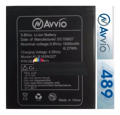 bateria pila avvio 489 calidad original
