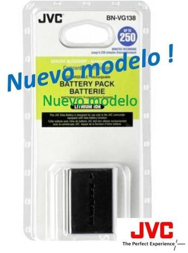 bateria pila bn-vg138 para camara filmadora jvc gz-e5 e8 e10