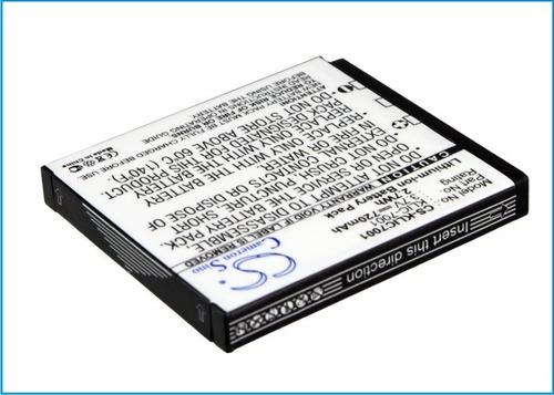 bateria pila camara kodak easyshare m340 m1063 klic7001 rym