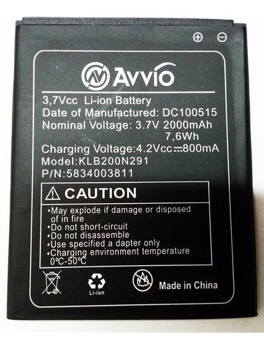 bateria pila celular avvio l800 hf550 calidad original