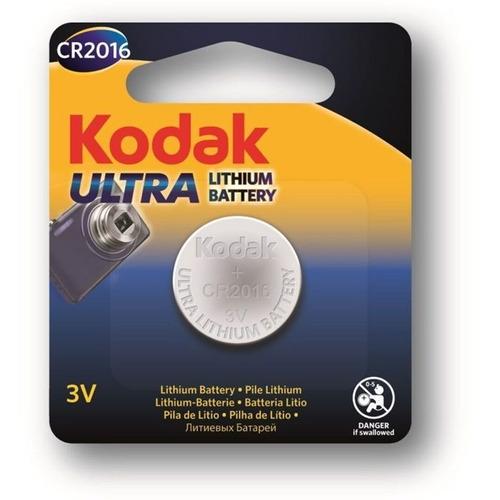 bateria pila cr2016 marca kodak ultra lithium vence 2026