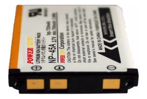 bateria pila fuji np-45 np45 para nikon s200 s203 etc