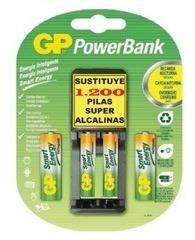 bateria pila gp recargables  recyko aa 2100 mah  x2  pares