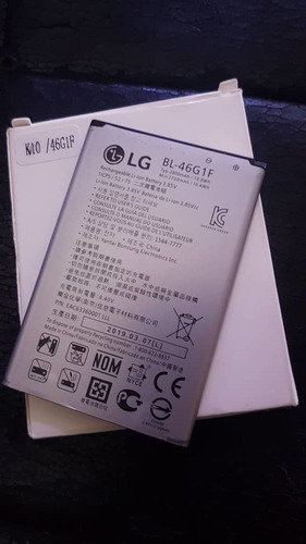 batería pila lg bl-46g1f k10 k20 plus k425 k428 k430 m250
