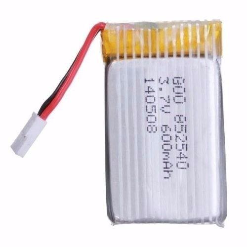 batería pila lipo drone syma x5sw x5sc 600 mah 3.7 v 25c
