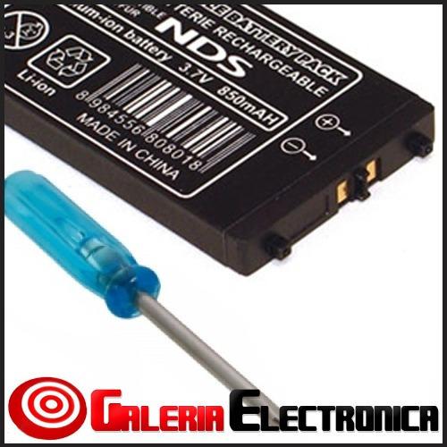 bateria pila nintendo ds 1ra gen 3.7v 850mah venta solo ccs