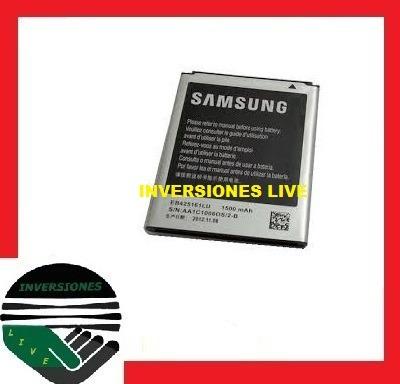 bateria pila original samsung galaxy mini s3 gt i8190