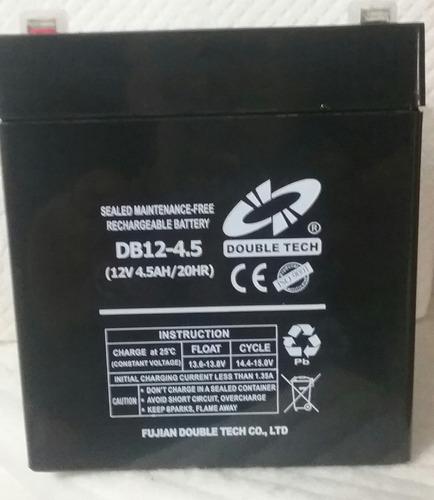 bateria pila recargable 12v 4.5ah cerco alarma lamparas