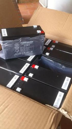 batería pila recargable 12v 7ah cercos en ups gn tx