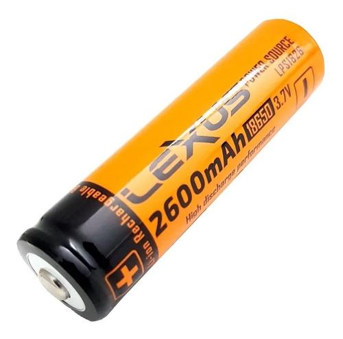 bateria pila recargable 18650 lexus 2600 mah