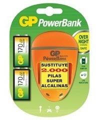 batería pila  recargable aa   gp 1000 mah  2 garantiz