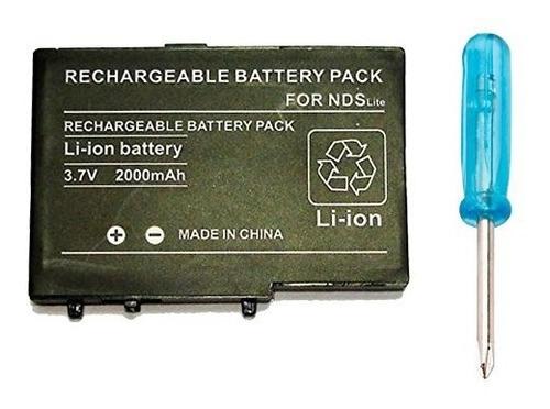 bateria pila recargable nintendo ds lite sellada blister