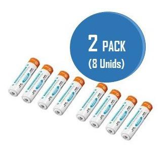 bateria pila recargable triple a aaa calidad tienda fisica