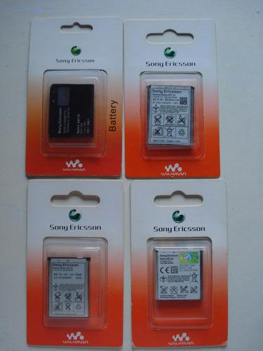 bateria pila sony ericsson bst-33 w100a f305 k800 w395 orig
