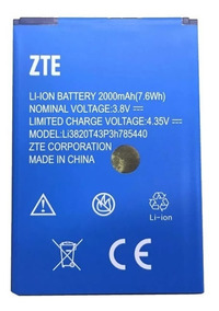 Bateria Pila Zte Blade L2 Plus Garantia 2000mah Envio Gratis
