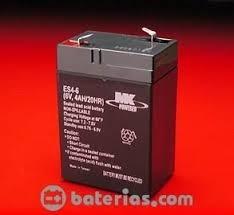 batería (pila)mk 6 volts 4 ah