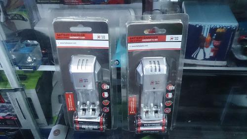 batería pilas cargador