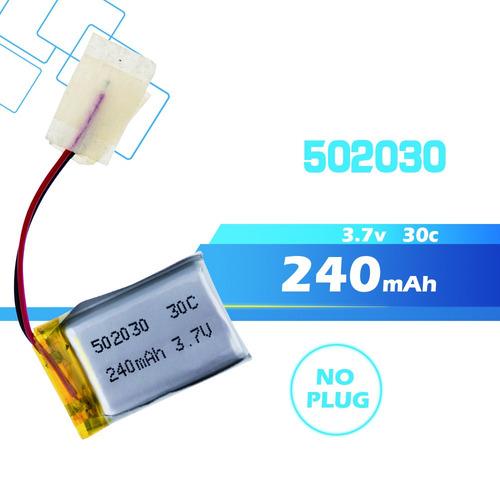 bateria pilas mp4 3.7v - 240 mah juguetes gps controles etc